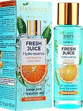 Parfémy, Parfumerie, kosmetika Hydratační esence na obličej Pomeranč - Bielenda Fresh Juice Hydro Essential Orange