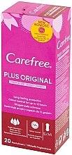 Parfémy, Parfumerie, kosmetika Hygienické denní vložky, 20ks - Carefree Plus Original Fresh Scent