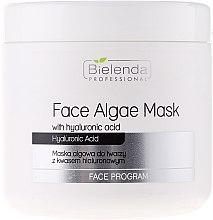 Parfémy, Parfumerie, kosmetika Alginátová obličejová maska s kyselinou hyaluronovou - Bielenda Professional Face Algae Mask with Hyaluronic Acid