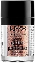 Parfémy, Parfumerie, kosmetika Třpyt na obličej a tělo - NYX Professional Makeup Metallic Glitter