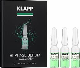 """Parfémy, Parfumerie, kosmetika Dvoufázové sérum """"Kolagen"""" - Klapp Bi-Phase Serum Collagen"""