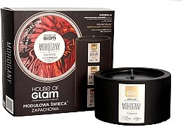 Parfémy, Parfumerie, kosmetika Aromatická svíčka - House of Glam Mohogany&Teakwood Candle