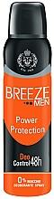Parfémy, Parfumerie, kosmetika Deodorant ve spreji - Breeze Men Power Protection Deo Control 48H