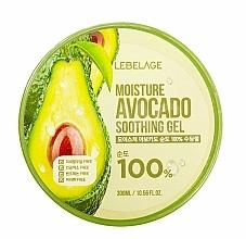 Parfémy, Parfumerie, kosmetika Pleťový gel - Lebelage Moisture Avocado 100% Soothing Gel