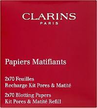 Parfémy, Parfumerie, kosmetika Matující ubrousky - Clarins Kit Pores & Matite (vyměnitelný blok)