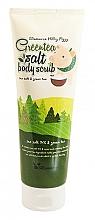 Parfémy, Parfumerie, kosmetika Tělový peeling s extraktem ze zeleného čaje - Elizavecca Body Care Milky Piggy Greentea Salt Body Scrub