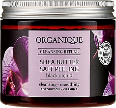 "Parfémy, Parfumerie, kosmetika Solný peeling ""Černá Orchidej"" - Organique Shea Butter Salt Peeling Black Orchid"