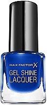 Parfémy, Parfumerie, kosmetika Gel lak na nehty - Max Factor Gel Shine Lacquer