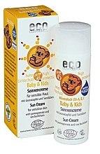 Parfémy, Parfumerie, kosmetika Dětský opalovací krém voděodolný SPF 45 - Eco Cosmetics Baby Sun Cream SPF 45