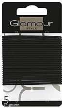 Parfémy, Parfumerie, kosmetika Gumičky do vlasů, 414933, černé - Glamour