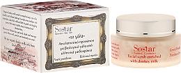 Parfémy, Parfumerie, kosmetika Zvlhčující peeling na obličej - Sostar Face Moisturizing Peeling with Donkey Milk
