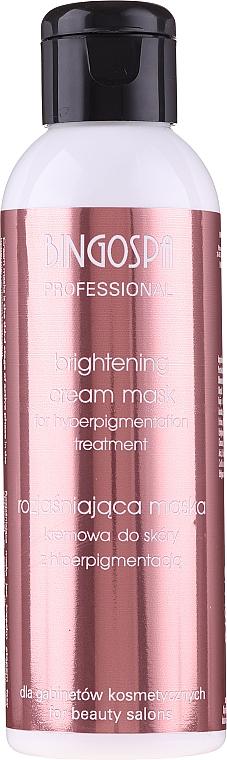 Rozjasňující krémová maska pro hyperpigmentaci kůže - BingoSpa Artline Brightening Cream Mask — foto N1