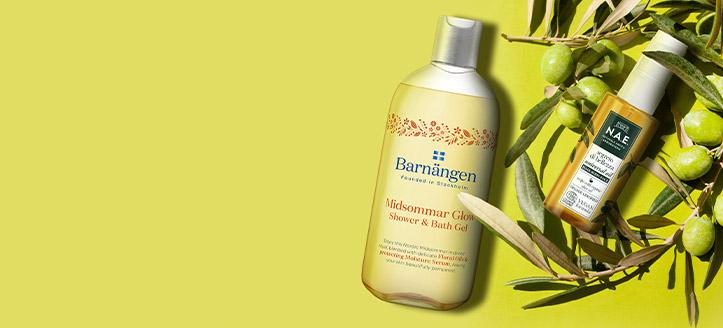 Sleva až 20% na akční produkty Barnangen a N.A.E. Ceny na webu jsou včetně slev