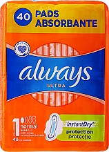 Parfémy, Parfumerie, kosmetika Hygienické vložky, 40 ks - Always Ultra Normal Plus