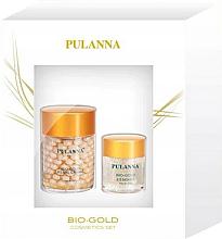Parfémy, Parfumerie, kosmetika Sada - Pulanna Bio-Gold (cr/60g + eye/gel/21g)