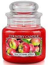 Parfémy, Parfumerie, kosmetika Vonná svíčka v plechovce - Country Candle Macintosh Apple