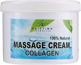 Parfémy, Parfumerie, kosmetika Masážní krém na obličej a tělo - Hristina Cosmetics Collagen Massage Cream