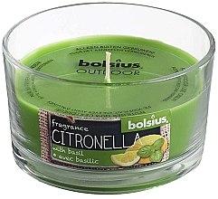 "Parfémy, Parfumerie, kosmetika Vonná svíčka ve sklenici ""Citronella Garden Basilic"", 62/106 mm - Bolsius Candle"