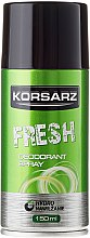 Parfémy, Parfumerie, kosmetika Deodorant - Pharma CF Korsarz Fresh Deodorant