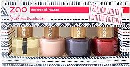 Parfémy, Parfumerie, kosmetika Sada - Zao Limited Edition Christmas Nail Polish Box