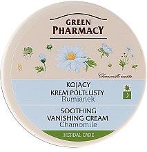 """Parfémy, Parfumerie, kosmetika Krém na obličej """"Heřmánek"""" - Green Pharmacy Soothing Vanishing Cream"""