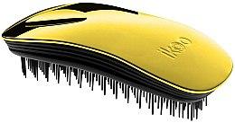 Parfémy, Parfumerie, kosmetika Kartáč na vlasy - Ikoo Home Black Soleil Metallic