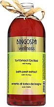 Parfémy, Parfumerie, kosmetika Bahenní nektar s medem - BingoSpa Mud Nectar With Honey