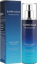 Parfémy, Parfumerie, kosmetika Hydratační pleťová emulze - Missha Super Aqua Ultra Hyalron Emulsion
