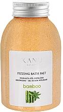 Parfémy, Parfumerie, kosmetika Šumivá sůl do koupele Bambus - Kanu Nature Bamboo Bath Salt