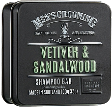 Parfémy, Parfumerie, kosmetika Vlasový šampon Vetiver a santalové dřevo - Scottish Fine Soaps Mens Grooming Vetiver & Sandalwood Shampoo Bar