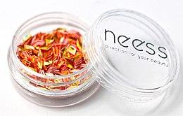 Parfémy, Parfumerie, kosmetika Třpytky na nehty, kosočtverec - Neess Blink Effect Jet Decoration