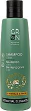 Parfémy, Parfumerie, kosmetika Šampon pro lesk vlasů - GRN Essential Elements Brillance Calendula & Hemp Shampoo