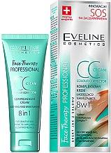 Parfémy, Parfumerie, kosmetika CC krém uklidňující a zpevňující - Eveline Cosmetics Therapy