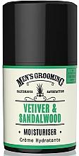Parfémy, Parfumerie, kosmetika Hydratační pleťový krém pro muže - Scottish Fine Soaps Vetiver & Sandalwood Moisturiser