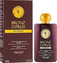 Parfémy, Parfumerie, kosmetika Intenzivní samoopalovácí lotion na obličej a tělo - Academie Bronz'Express Intense Lotion