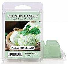 Parfémy, Parfumerie, kosmetika Vosk do aroma lampy - Country Candle Pistachio Gelato Wax Melts