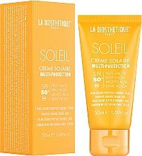 Parfémy, Parfumerie, kosmetika Voděodolný opalovací pleťový krém - La Biosthetique Soleil Multi-Protection Solar Cream SPF 50+