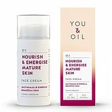 Parfémy, Parfumerie, kosmetika Pleťový krém Výživa a energie - You & Oil Nourish & Energise Mature Skin Face Cream