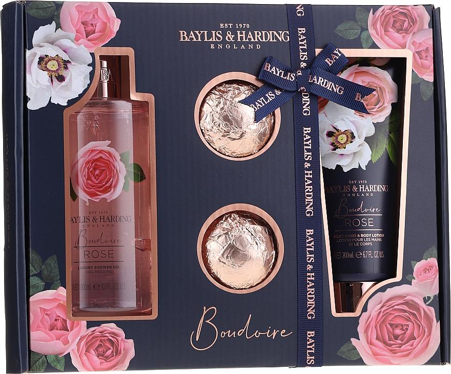 Sada - Baylis & Harding Boudoire Rose (sh/gel/300ml + b/lot/200ml + bath/bomb/2x75g)