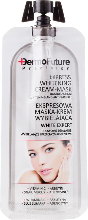Krém-maska na obličej pro zesvětlení - Dermofuture White Expert Cream-mask