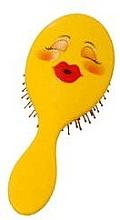 Parfémy, Parfumerie, kosmetika Kartáč na vlasy 2003W, smajlík - IDC Design XL Detangle Brush