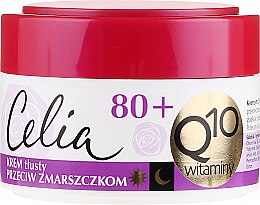 """Parfémy, Parfumerie, kosmetika Nasycený krém proti vráskám """"Vitaminový"""" - Celia Q10 Face Cream 80+"""