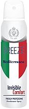 Parfémy, Parfumerie, kosmetika Deodorant ve spreji - Breeze Mediterranean Invisible Comfort Deodorant Spray