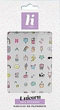 Parfémy, Parfumerie, kosmetika Nálepky na nehty - Hi Hybrid Unicorn Nail Stickers