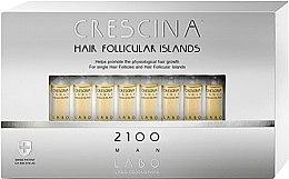 Parfémy, Parfumerie, kosmetika Pleťový krém na stimulaci růstu vlasů pro ženy 2100 - Labo Crescina Hair Follicular Island 2100 Man