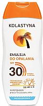 Parfémy, Parfumerie, kosmetika Ochranná opalovací emulze - Kolastyna Suncare Emulsion SPF 30