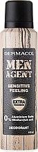 Parfémy, Parfumerie, kosmetika Deodorant - Dermacol Men Agent Sensitive Feeling Deodorant
