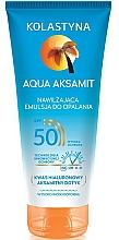 Parfémy, Parfumerie, kosmetika Hydratační lotion na opalování - Kolastyna Aqua Aksamit SPF50