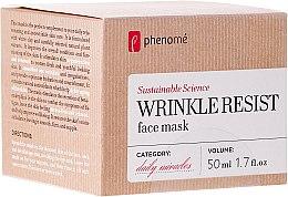 Parfémy, Parfumerie, kosmetika Maska proti stárnutí - Phenome Wrinkle Resist Face Mask