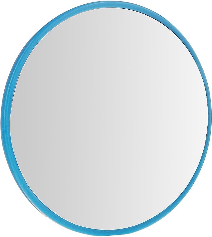 Kompaktní kulaté zrcadlo, 7 cm, modré - Donegal — foto N1